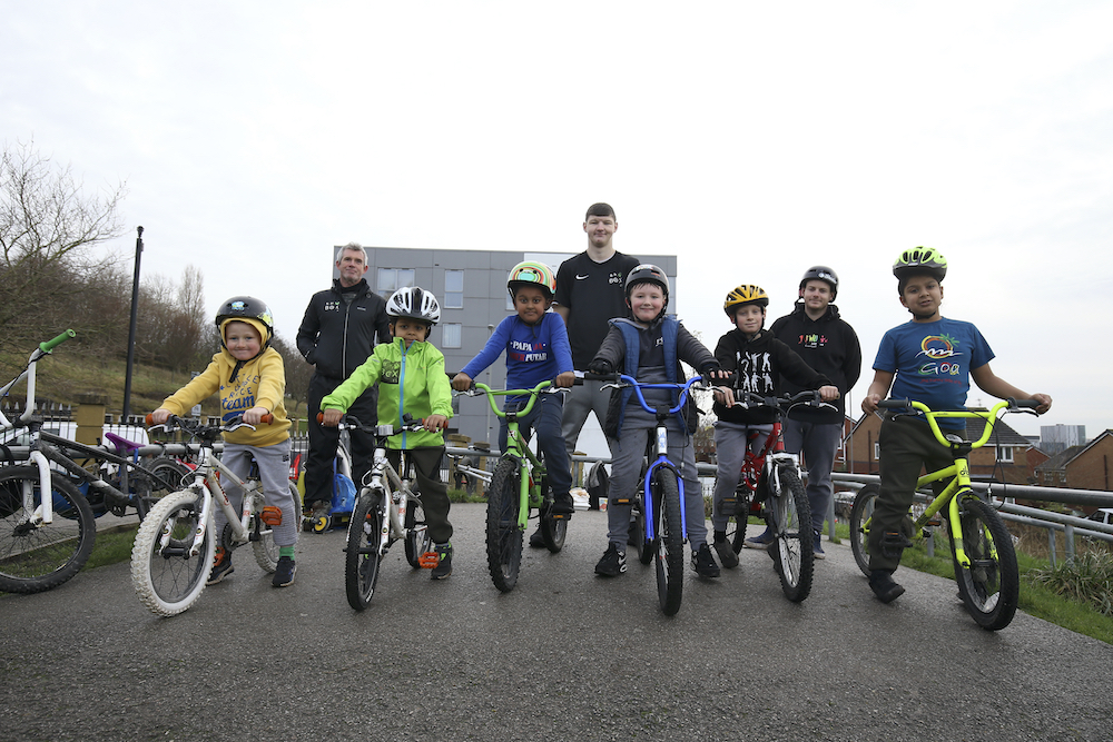 Eat BMX Repeat event gets Christmas off to a 'wheelie' good start